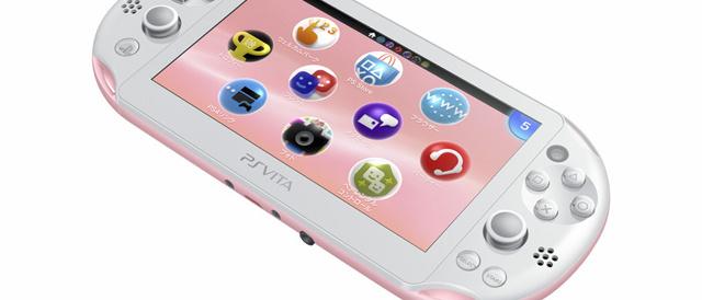 PS Vitaに新色ライトピンク/ホワイト、ダンガンロンパ1・2 Limited Edition登場。
