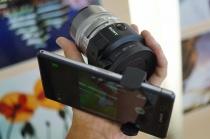 レンズスタイルカメラQX1をさらにおもしろくするアクセサリーたち。