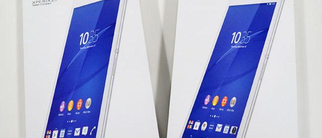 「Xperia Z3 Tablet Compact」に使えるアクセサリー類いろいろ。