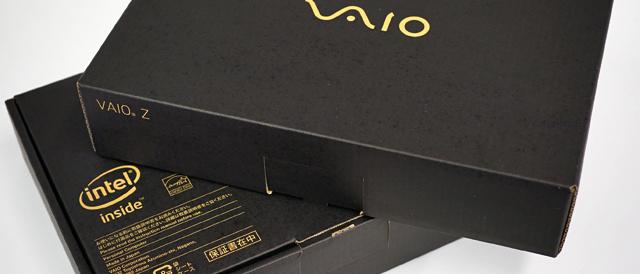 MONSTER PC 「VAIO Z」の展示実機、ブラックとシルバーが入荷!