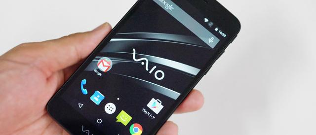 「VAIO Phone」をセットアップして、スペックやアプリを調べてみよう。