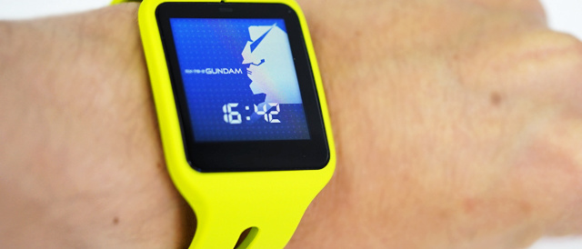 Apple Watchを超えたぜ「SmartWatch 3」(俺の中で)!ガンダムのウォッチフェイスを嬉しがって入れてみた。 #Xperiaアンバサダー