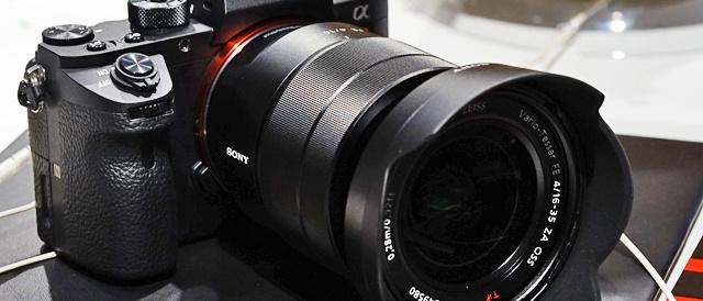 35mmフルサイズミラーレス一眼カメラ「α7RⅡ」を、ソニーストア大阪で触ってきたレビュー。