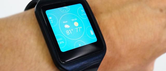 「SmartWatch 3」をAndroid wear ver.1.3 にアップデートして、Google翻訳と、対話型ウォッチフェイスを使ってみた。