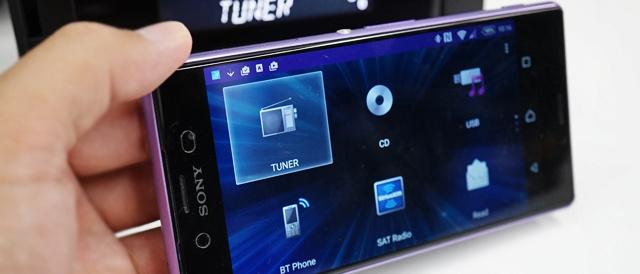 スマートフォンクレードル搭載カーオーディオ「XSP-N1BT」に、Xperiaをくっつけて遊んでみた。