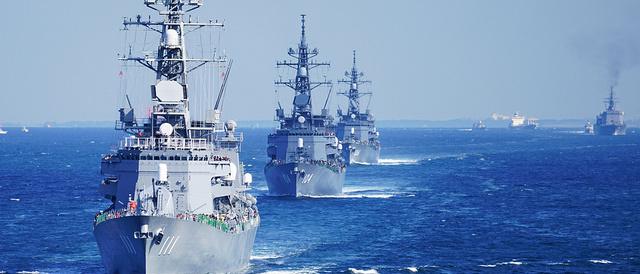 2015年10月15日(木)、「平成27年度自衛隊観艦式」の事前公開(体験航海)に行ってきたよ。
