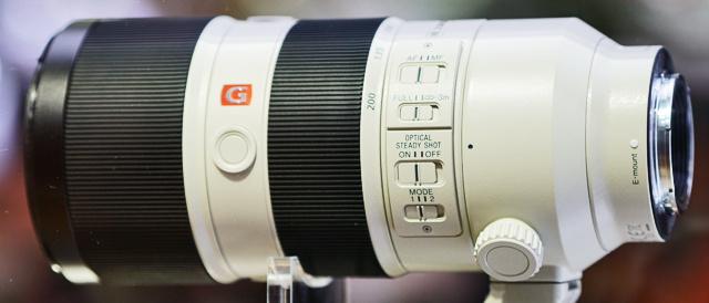 G Master 望遠レンズ 「SEL70200GM」にソフトウェアアップデート。前回アップデート(Ver.03)の一部不具合修正。