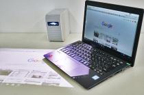 ポータブル超短焦点プロジェクター 「LSPX-P1」に、Windows PCの画面を映し出してみる。