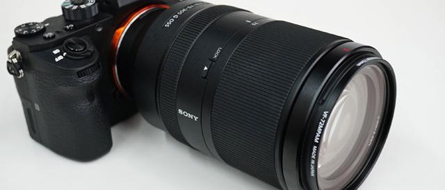 """""""αシリーズ""""Eマウントカメラの性能を出しきれる待望の望遠ズーム(FE 70-300mm F4.5-5.6 G OSS)「SEL70300G」。"""