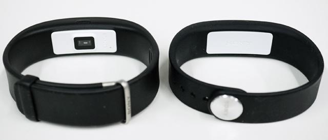 ウェアラブルデバイスの「SmartBand 2 (SWR12)」と「SmartBand (SWR10)」の違いを比べてみよう。