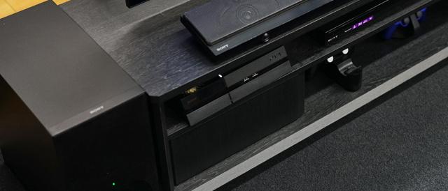シアター以外の音楽も楽しめてモトがとれる、薄型デザインで設置しやすいたサウンドバー「HT-NT5」。