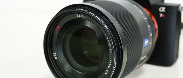 ビシっと決まる解像感と描写力、ポートレートからスナップまでが1本で撮りやすい、単焦点レンズ Planar T* FE 50mm F1.4 ZA 「SEL50F14Z」。