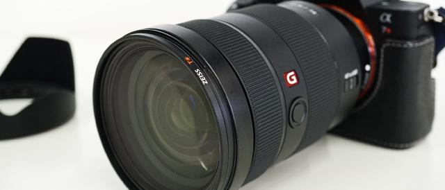 24mmから70mmまで変化できる焦点距離で、どれだけの絵が撮れるか楽しみなレンズ「SEL2470GM」