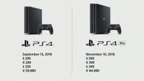 4K、HDRに対応した「PlayStation 4 Pro」を11月10日に、コンパクトに低消費電力になった「PlayStation 4」を9月15日発売。