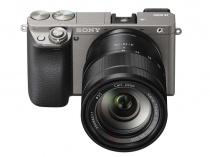 デジタル一眼カメラα6000に、新色グラファイトグレーを追加。