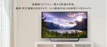 超シンプルで使いやすさを重視したフルHDハイビジョンテレビ「BRAVIA W730Eシリーズ」。