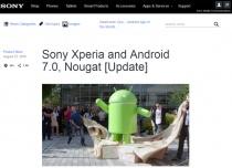 グローバル版「Xperia Z5シリーズ」、「Xperia Z3+」、「Xperia Z4 Tablet」に、Android 7.0 Nougatへのアップデートを順次開始。