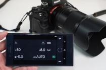 「PlayMemories Mobile」アプリver5.8で、カメラのリモート撮影のUIがシンプルかつ使いやすく刷新。