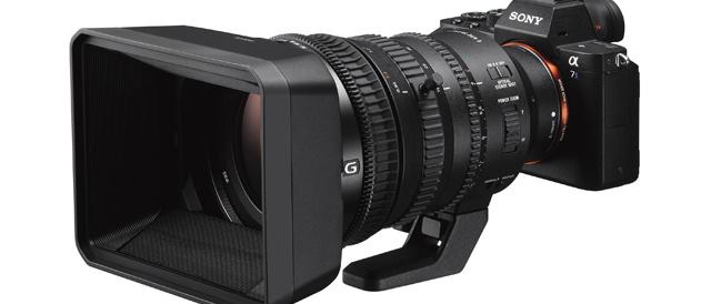 スーパー35mm/APS-Cフォーマットで4K動画撮影に特化した電動ズームレンズ E PZ 18-110mm F4 G OSS 「SELP18110G」。