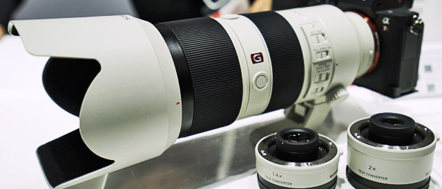 G Master 望遠レンズ(FE 70-200 mm F2.8 GM OSS) 「SEL70200GM」、ようやくソニーストアで[翌日出荷]ステータスへ。