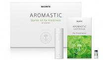 5種類の香りを携帯して楽しめる癒やしグッズ「AROMASTIC(アロマスティック)」に、新しい香りのカートリッジ(Freshness)を追加。