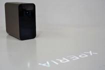 ポータブルスマートプロジェクター「Xperia Touch」が、アップデートでジェスチャーコントロール対応に!USBイーサネットアダプタを使用してLANケーブル接続も。