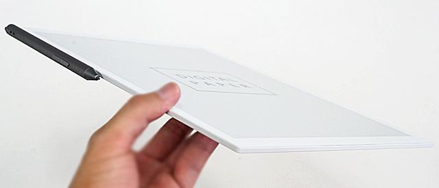 紙のように読んだり書いたりできるデジタルペーパー「DPT-RP1」を使ってみよう。(書き心地とか使い勝手)