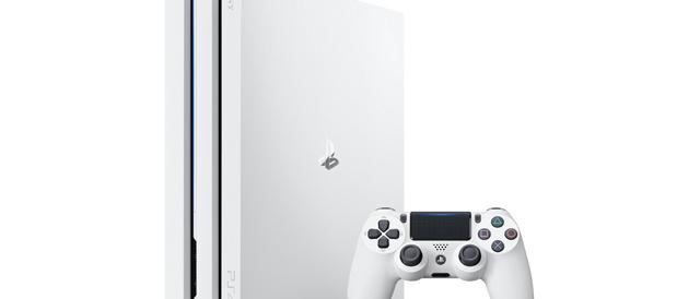 「PlayStation 4 Pro」に新カラーとして、グレイシャーホワイトを9月6日(水)に発売。
