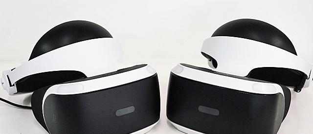 新型「PlayStation VR (CUH-ZVR2)」はどこが変わった?前モデル(CUH-ZVR1)と外観を比較してみる。