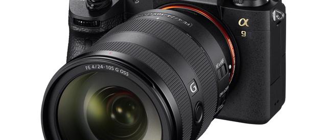 標準ズームレンズFE 24-105mm F4 G OSS 「SEL24105G」を、11月25日発売。ソニーストアで10月31日から先行予約販売を開始。
