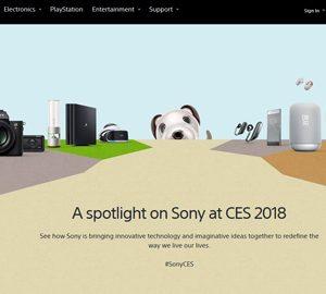CES 2018で登場した、ソニー新モデルたち。