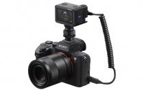 「RX0」とデジタル一眼カメラやサイバーショットと合体させて同時に撮影できるレリーズケーブル「VMC-MM2」を5月25日に発売。