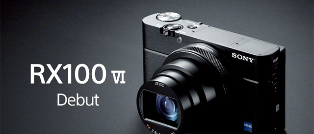 1インチ 積層型Exmor RS CMOSセンサーの高画質に、持ち運べる圧倒的コンパクトさを備えたまま24-200mmズームと高速AFが融合したデジタルカメラ DSC-RX100M6「RX100Ⅵ」