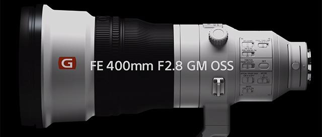 大口径長望遠レンズFE 400mm F2.8 GM OSS「SEL400F28GM」、7月3日10時より先行予約開始。最短出荷は9月上旬、納期は受注生産状況により変動。