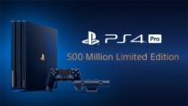 プレイステーション5億台突破を記念した濃紺色のスケルトンデザインの「PlayStation®4 Pro 500 Million Limited Edition」を数量限定で8月24日発売。コントローラーとヘッドセットも9月6日発売。