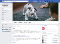 Facebook内に「aiboファングループ on Facebook」を開始。8月26日(日)、aibo Fan Meeting (アイボ ファン ミーティング) Vol. 1開催。