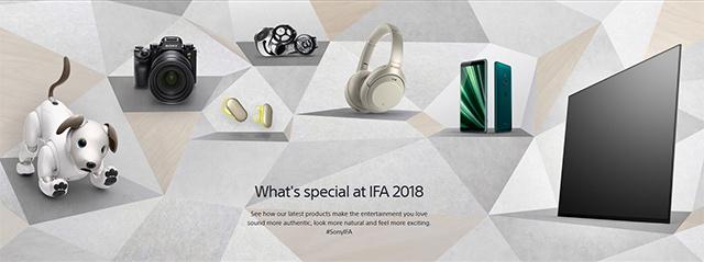 IFA 2018で登場した、ソニーの新モデルたち。(その1)ワイヤレスヘッドセット、ヘッドホン、ウォークマン、ハイレゾオーディオプレーヤー、ワイヤレススピーカーなど。
