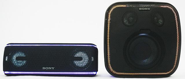 重低音と光が眩しいパリピスピーカーに、Googleアシスタントという強烈な機能が加わったスマートスピーカー「SRS-XB501G」。