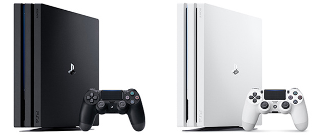"PlayStation4 Pro(1TB)ジェット・ブラック/グレイシャー・ホワイトを39,980円+税、PS VR ""PlayStation VR WORLDS"" 同梱版を34,980円+税で10月12日(金)より発売。"