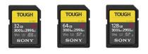 超堅牢・防水・防塵性能と高速性能をかねそなえたソニーのタフネス SDカード「SF-G TOUGH」シリーズ登場。