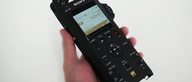 演奏のレコーディングを確実に高いレベルに引き上げるハイレゾ対応リニアPCMレコーダー「PCM-D10」