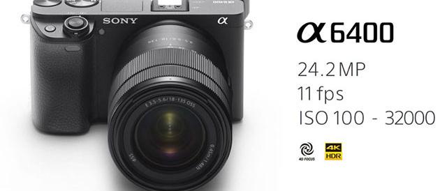 海外で新しいミラーレスカメラα6400発表!コンパクトで軽量、動きの速い被写体を確実に捉える超高速AFとリアルタイムタイムトラッキング。