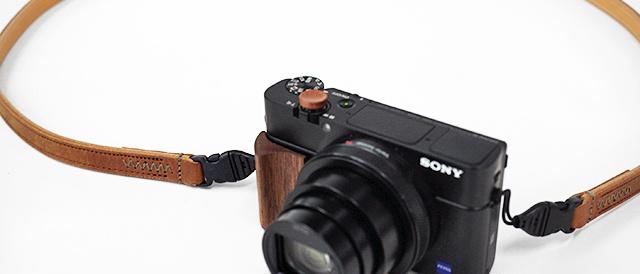 RX100シリーズを愛でるためのアイテム(その3)ULYSSES製「レザーストラップ クラシコ・セルペンテ」