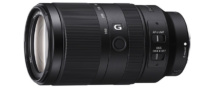 焦点距離105mm-525mm(35mm判換算)の超望遠ズームレンズ E 70–350 mm F4.5–6.3 G OSS「SEL70350G」を10月25日発売。ソニーストアでは、9月3日10時から先行予約販売開始。