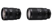 海外でAPS-C対応 Eマウントレンズ、E 16–55mm F2.8 G「SEL1655G」とE 70–350 mm F4.5–6.3 G OSS「SEL70350G」の2本を発表。<追記:国内でも発表!>