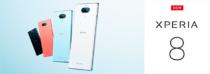 21:9ワイドディスプレイを搭載した手軽なミッドレンジスマートフォン「Xperia 8」、ワイモバイルより10月下旬以降に発売予定。