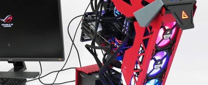 見た目にクールで作業が捗るオレ的理想のデスクトップPCを作りたい!(光るPCケースファンを増設 編)