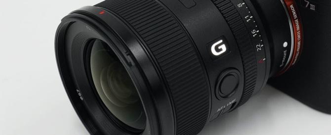 開放F1.8の大口径広角単焦点レンズ FE 20mm F1.8 G 「SEL20F18G」。外観レビューと使ってみた初日のファーストインプレ。