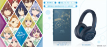 ウォークマン&ワイヤレスヘッドホン TVアニメ「22/7」コラボレーションモデル、ソニーストアで2020年6月29日(月)10時までの期間限定販売。
