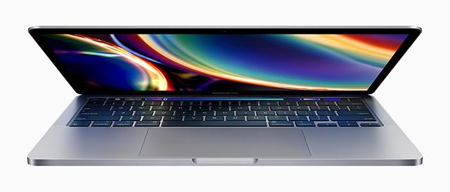 新型 13インチMacBook Pro (2020年モデル)発表。Magic Keyboard搭載。上位モデルは、第10世代Intel Core プロセッサー、メモリー32GBへ。